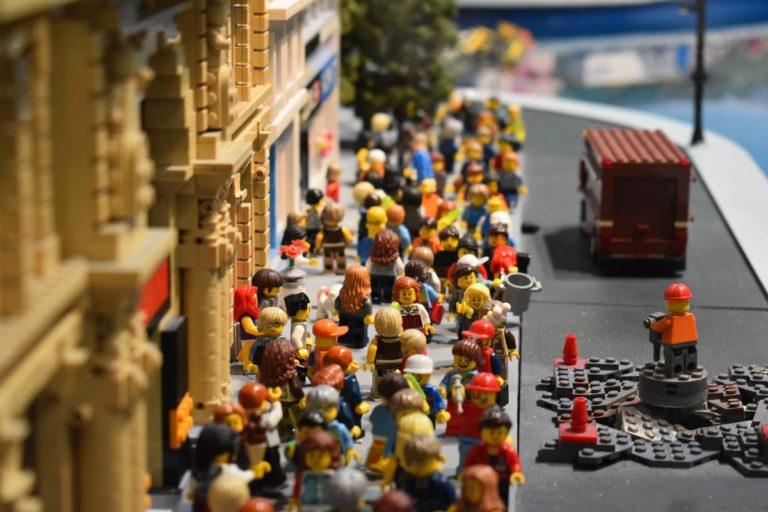 Klocki Lego to dla dzieci godziny wspaniałej zabawy